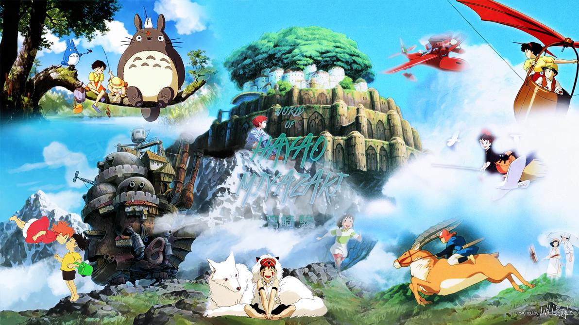 World Of Hayao Miyazaki Wallpaper By WiLLStyle
