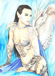 Koriah and White Dragon