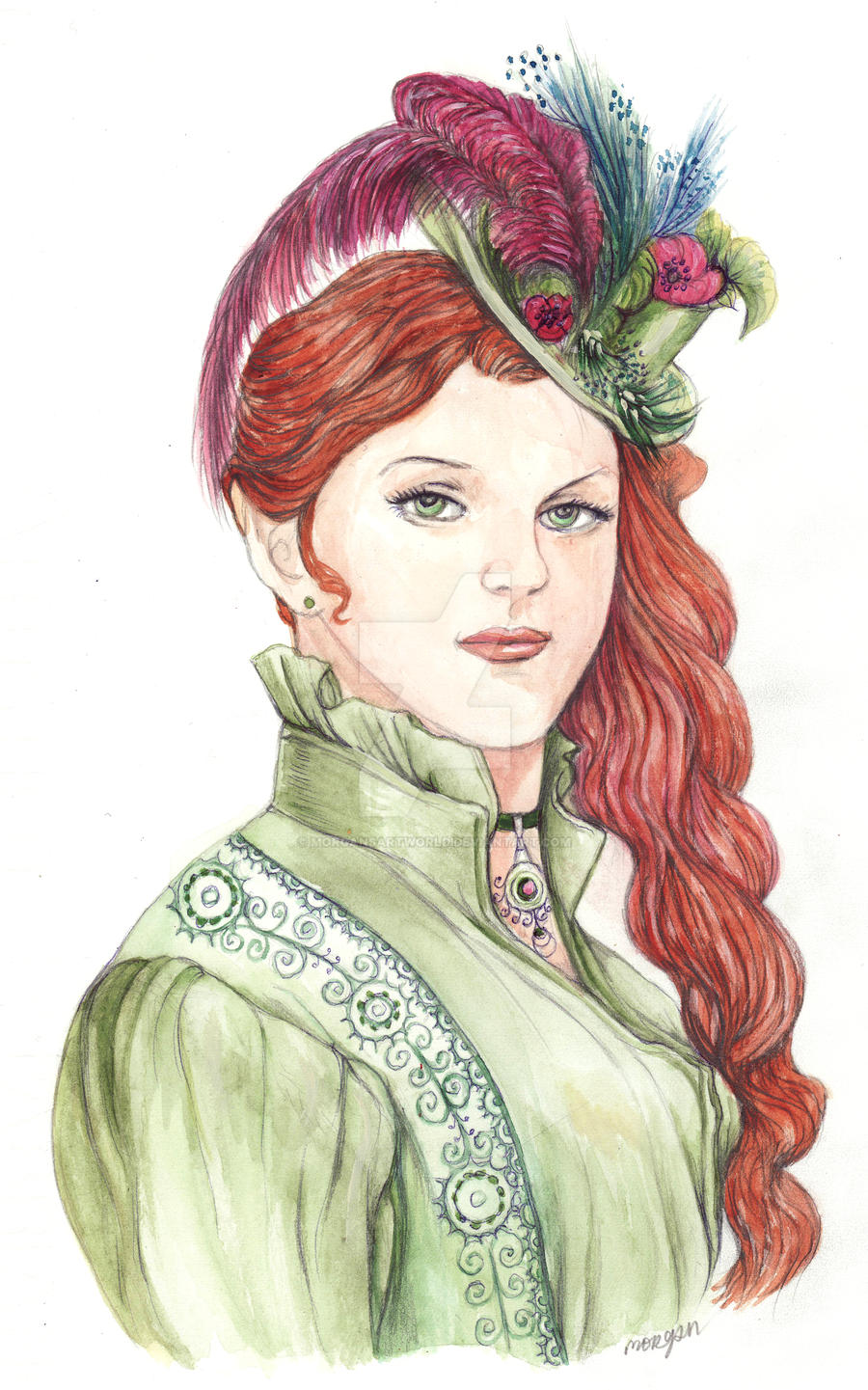 Late victorian lady by morgansartworld on deviantart - Late victorian wallpaper ...