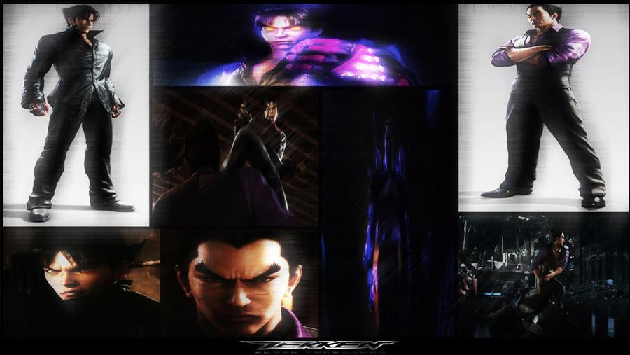 Jin Vs Kazuya Blood Vengeance By 19 Az 88 On Deviantart