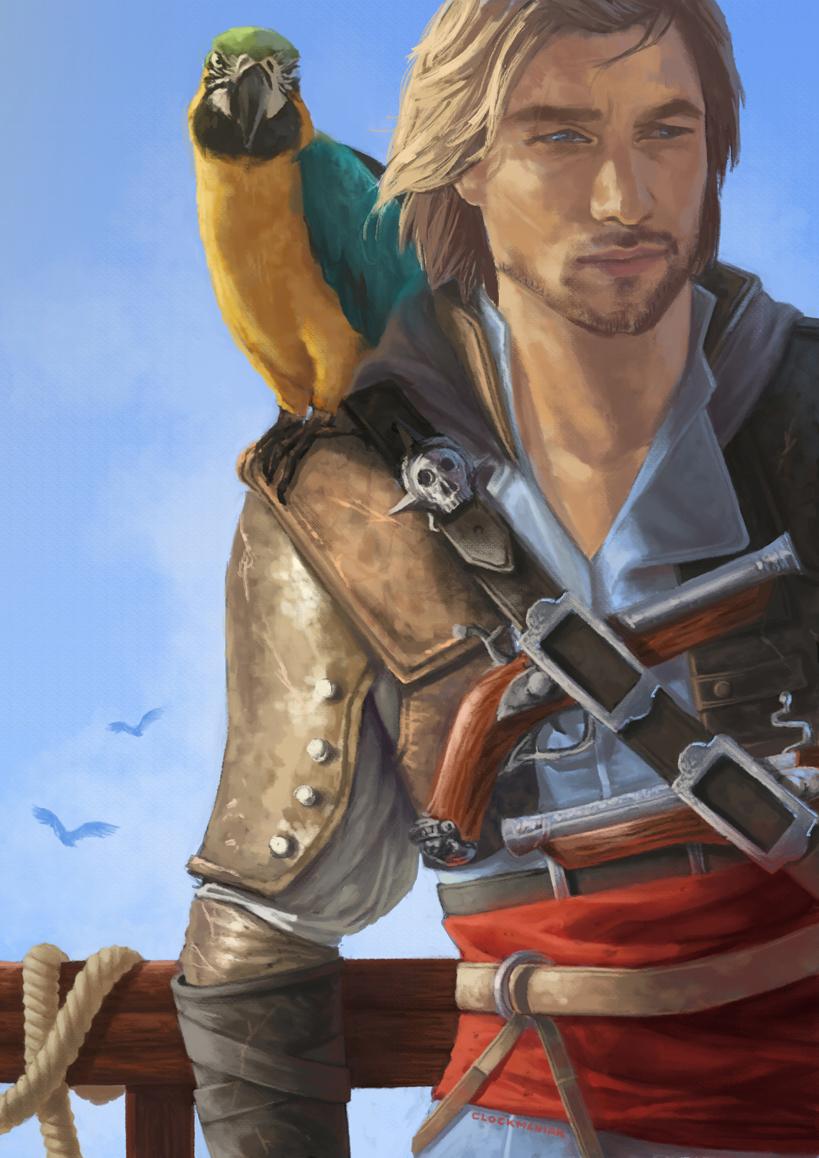 Dat badass pirate ! by CLOCKMANIAK