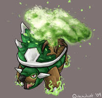 Leaf Storm Torterra by themutant