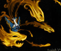Draco Meteor Latios by themutant