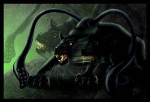 DnD Displacer Beast