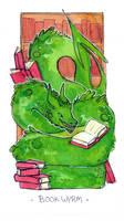Book Wyrm by ambue