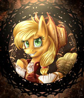 MLP V.E. Series - Applejack by Giumbreon4ever