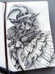 Lunatic Witch (Inktober Special)