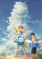 Summer Boys - Haikyuu!! Visual Fanbook by PenguinFrontier