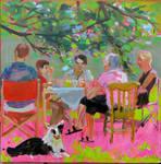 the summer dining-room