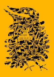 We are animals.