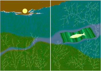 Lidojoshais Lasis / Soaring Salmon