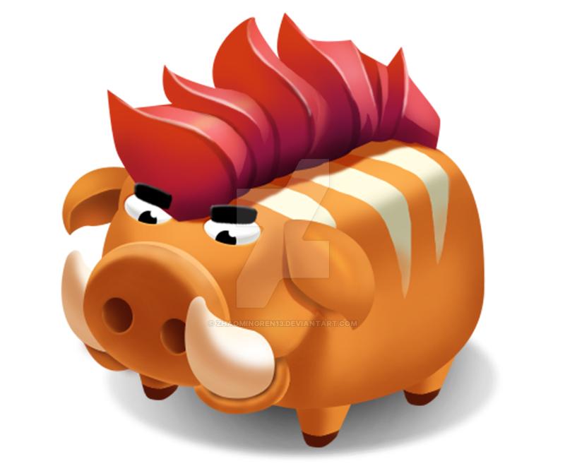 Numb Pig by zhaomingren13