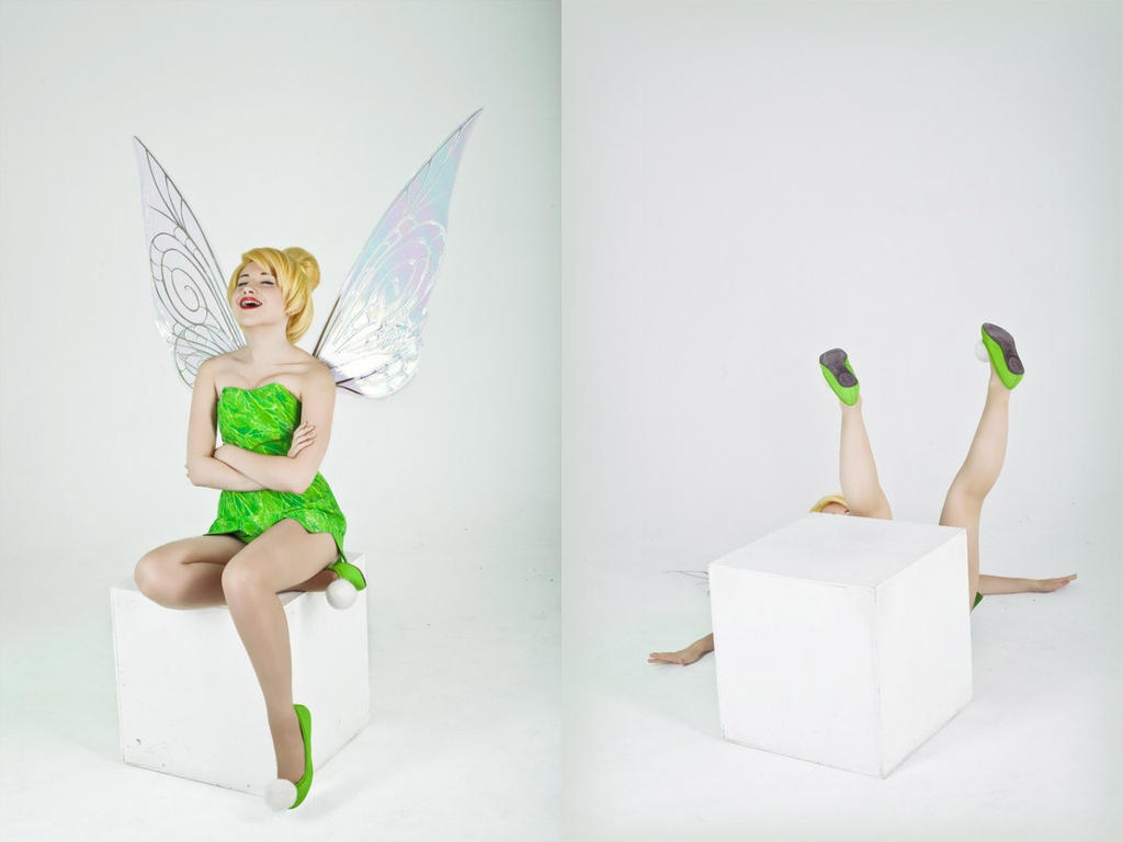 Laughing Tinkerbell by Tink-Ichigo