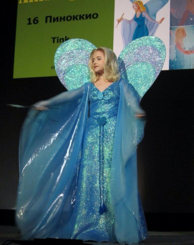The Blue Fairy by Tink-Ichigo
