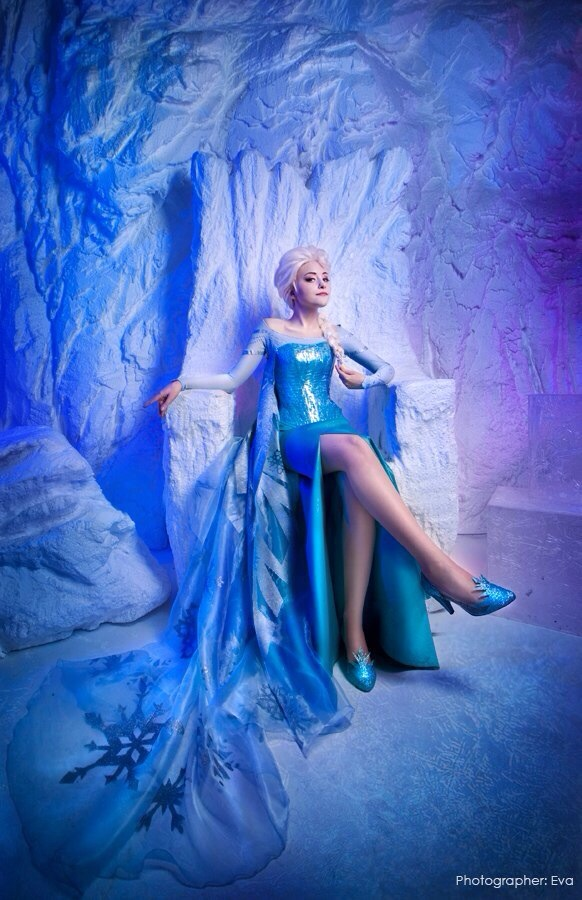 Elsa The Snow Queen by Tink-Ichigo