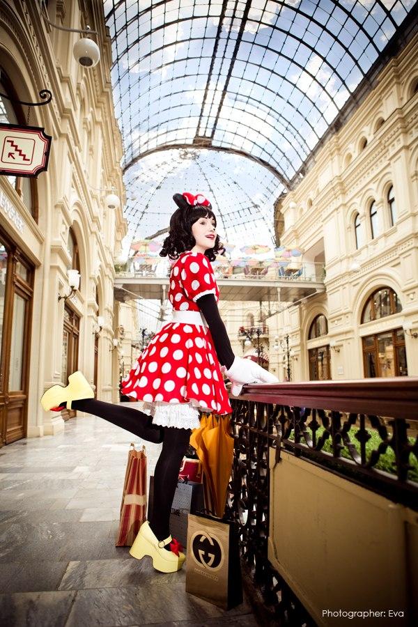 Minnie Mouse - Retro Cutie by Tink-Ichigo