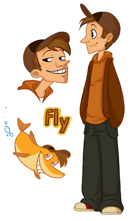 Fly by abi r on deviantart for Help i ma fish