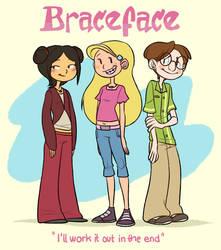 Braceface - Fanart by Abi-R