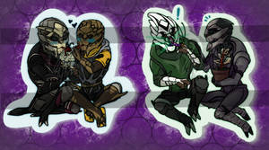 Stickers - R-B