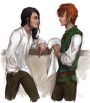 Kvothe and Bast