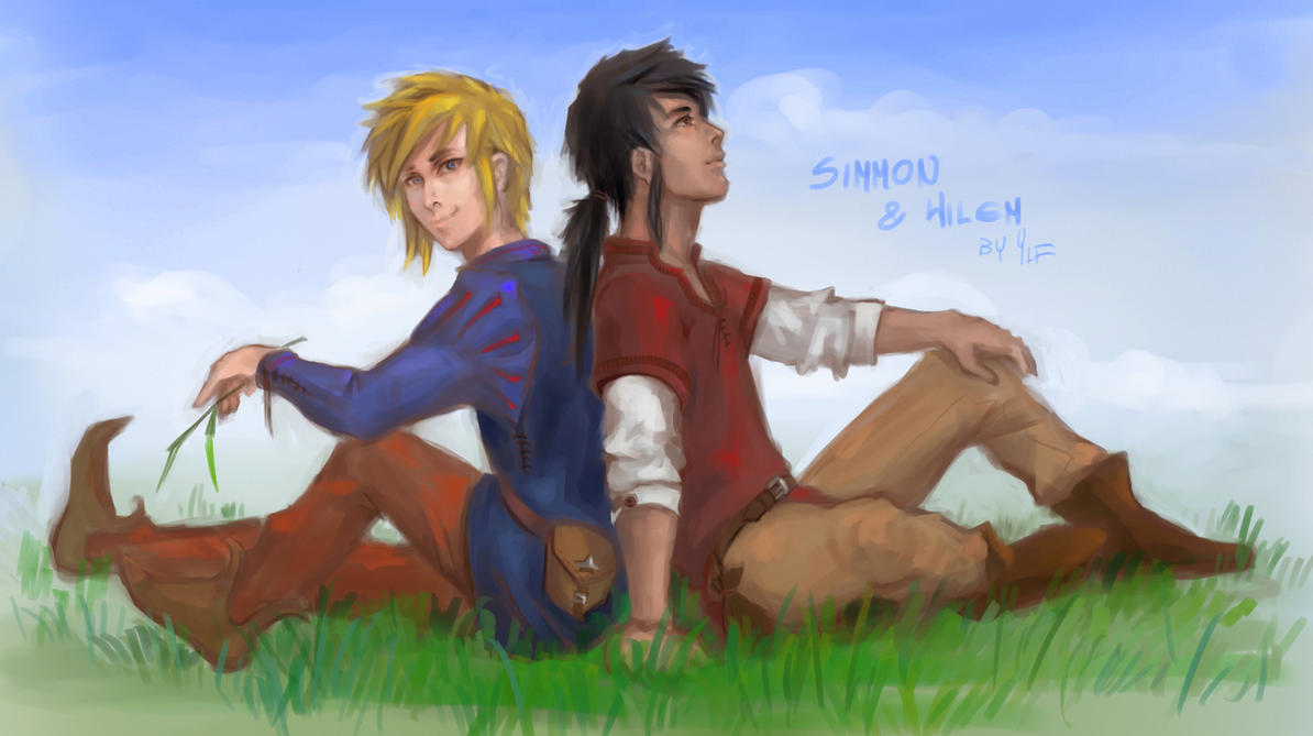 Wilem and Simmon by AlyaW