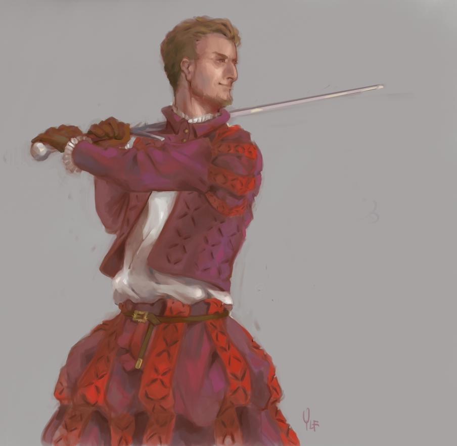 Fencer by AlyaW