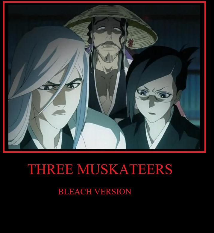 THREE MUSKATEERS by RayneWolfspeaker