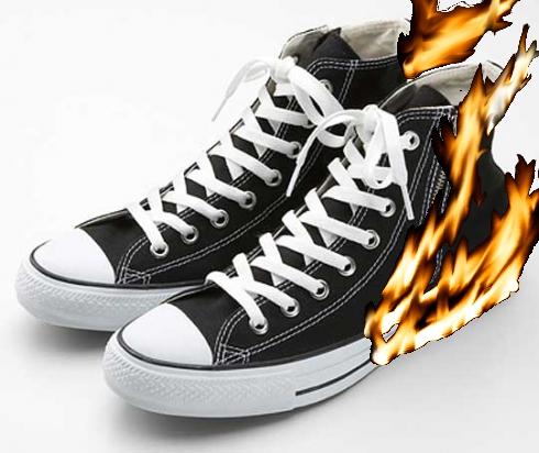 converse fire