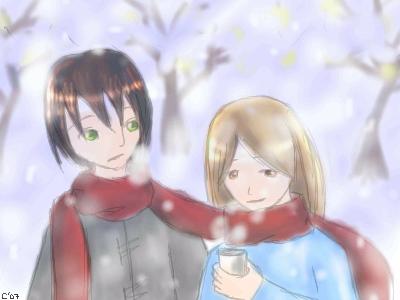 Snowflakes by Keki-chan