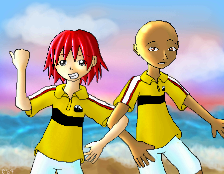 Beach - D2 by Keki-chan