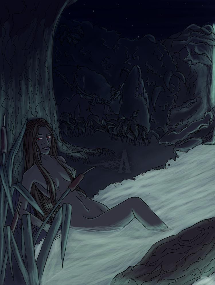 .Aya Sketch & Co ./ Water_Nymph___by_Akaruri