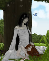 Contest- Elwen and Eloine by Eiraya