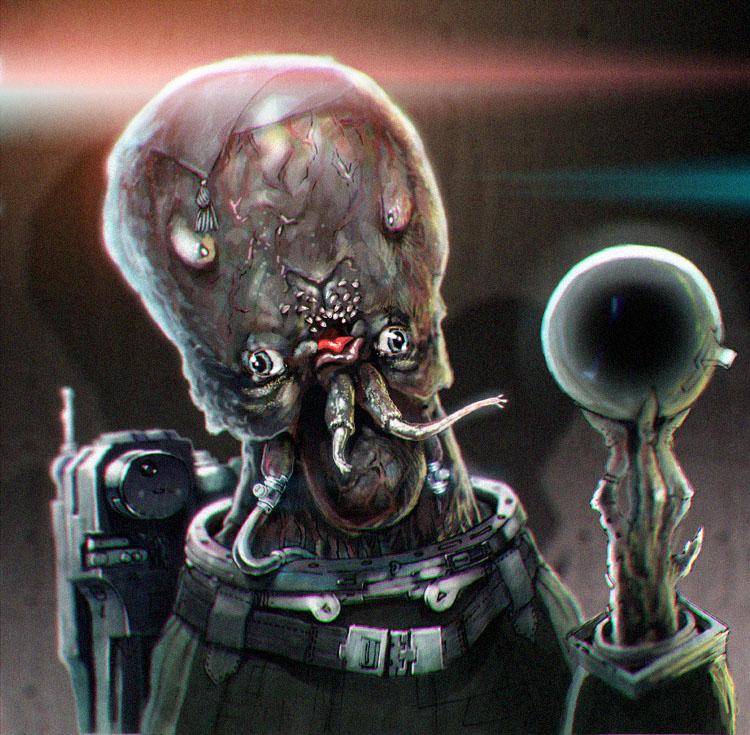 alien astronaut photo by dreaz on DeviantArt