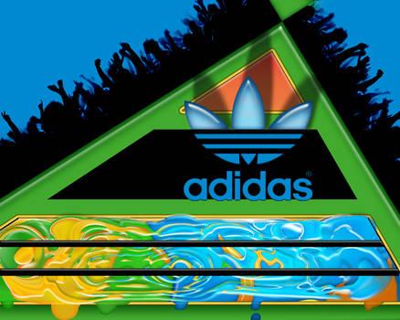 adidas crowd