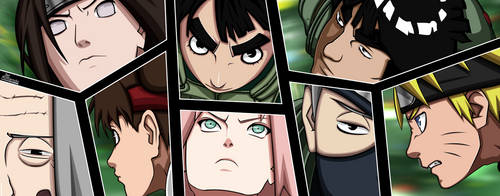 Naruto 261 : Double team by Rollando35