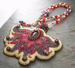 Amethyst Fairy Flower Necklace