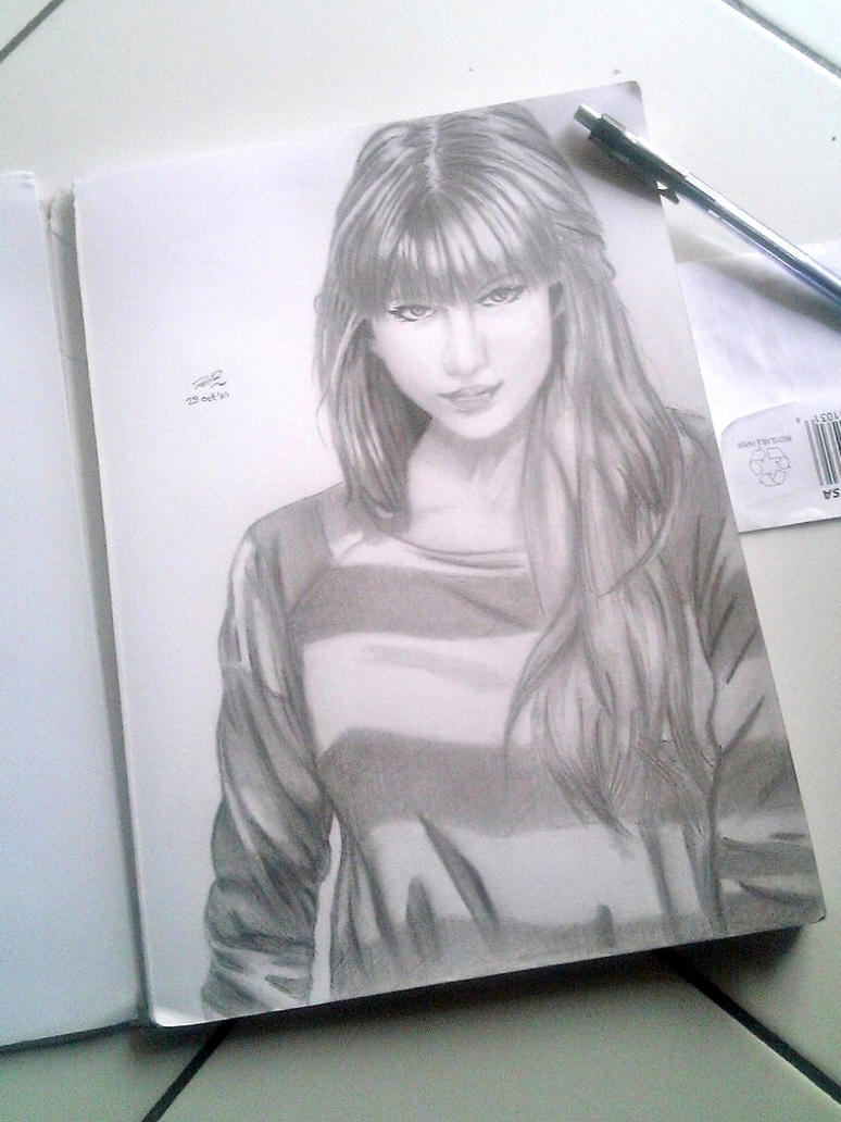 Taylor Swift Sketch by abz89