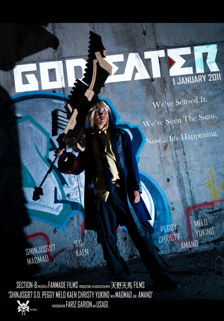 God Eater Soma Poster by ShinjiSG87