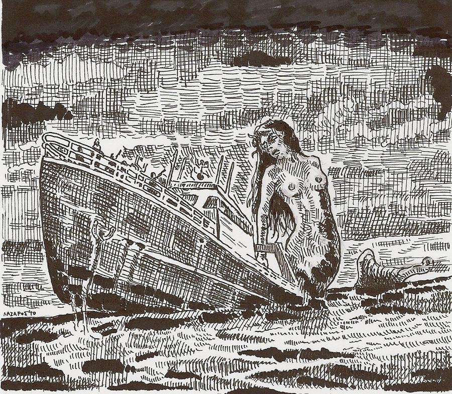 killer mermaid by Sorazal999
