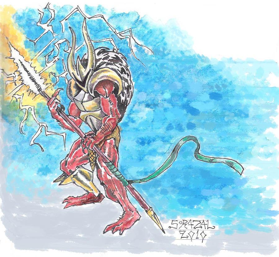 Demon Warrior by Sorazal999