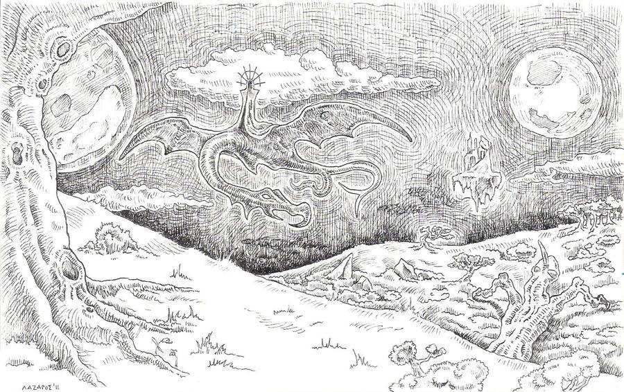 Dark Lord Descending by Sorazal999