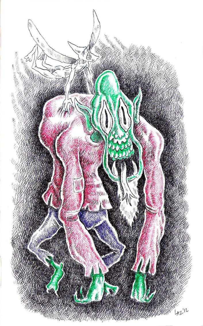 Hovering Troll by Sorazal999