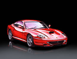 Ferrari 550 Maranello by hairywookiee