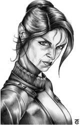 Lt. Saavik - Star Trek II by hairywookiee