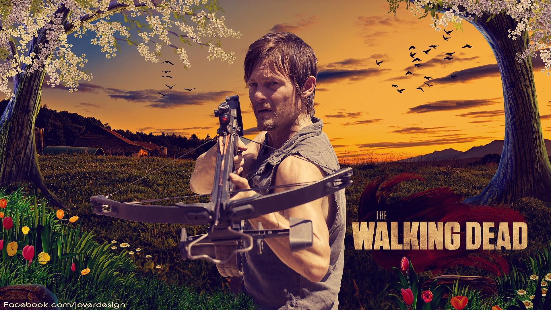 Daryl DixonWalking Dead Season 3 Ep10 By Jover Design