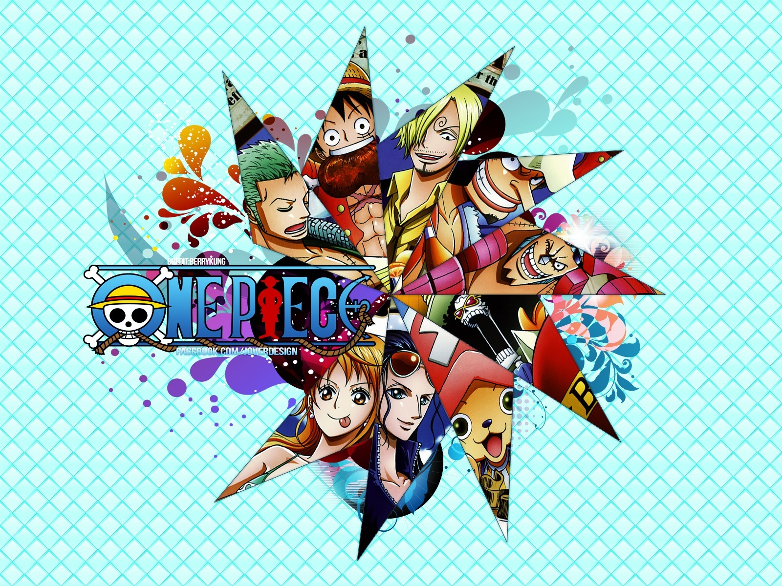 One Piece Crew Wallpap...