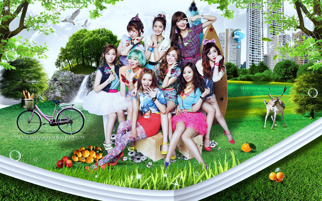 Girls Generation:Baby G HD by Jover-Design