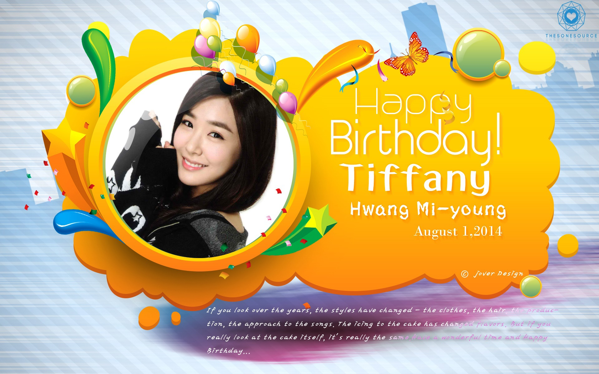 DeviantArt: More Like Tiffany Birthday by Jover-Design