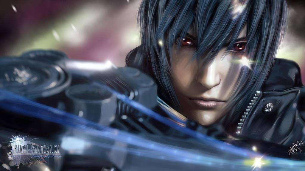 Noctis Lucis Caelum Final Fantasy Xv Artwork Hd Games 4k: Final Fantasy 15:Noctis Lucis Caelum By Jover-Design On