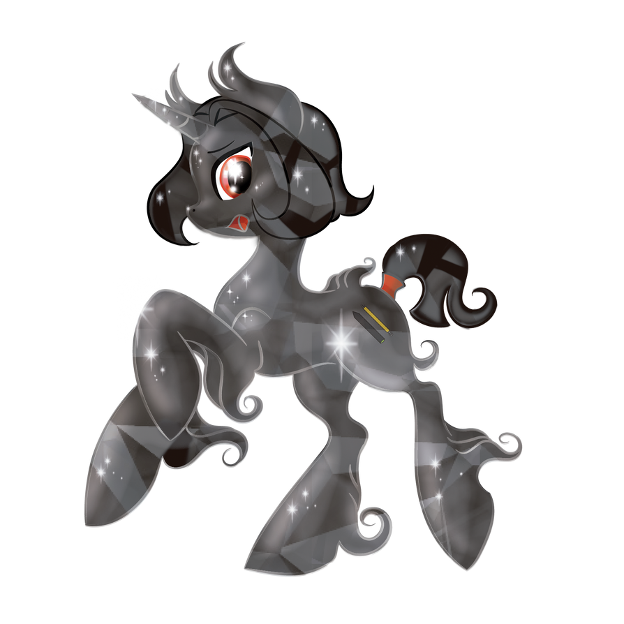 Raven All Crystal Pony - What the hell...!?! by allocen